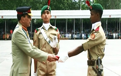 1 Mujahid Course, 127 PMA Long Course, 46 Integrated Course, Chief of Army Staff, General Ashfaq Parvez Kayani, Major General Sadiq Ali, Pakistan Military Academy, Passing Out Parade, PMA Kakul, Video