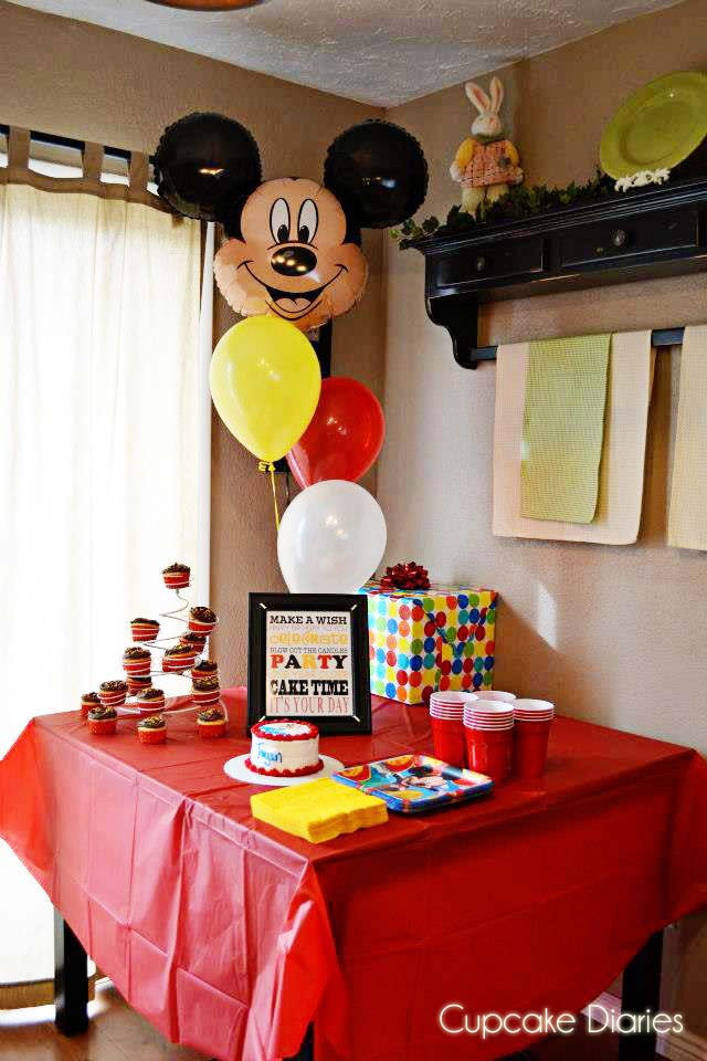 ... to create a really cute birthday party with just a few simple touches