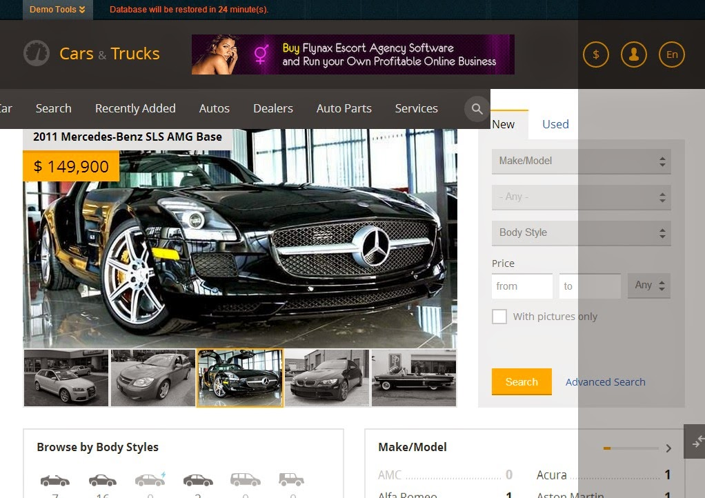 Flynax Classifieds Auto 4.3 - [ORIGINAL & NULLED] - DownloadAsap