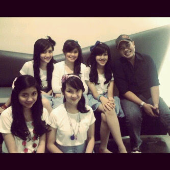 BLink Baru Girl Band Indonesia