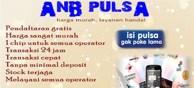 ANB Pulsa Distributor Pulsa Termurah