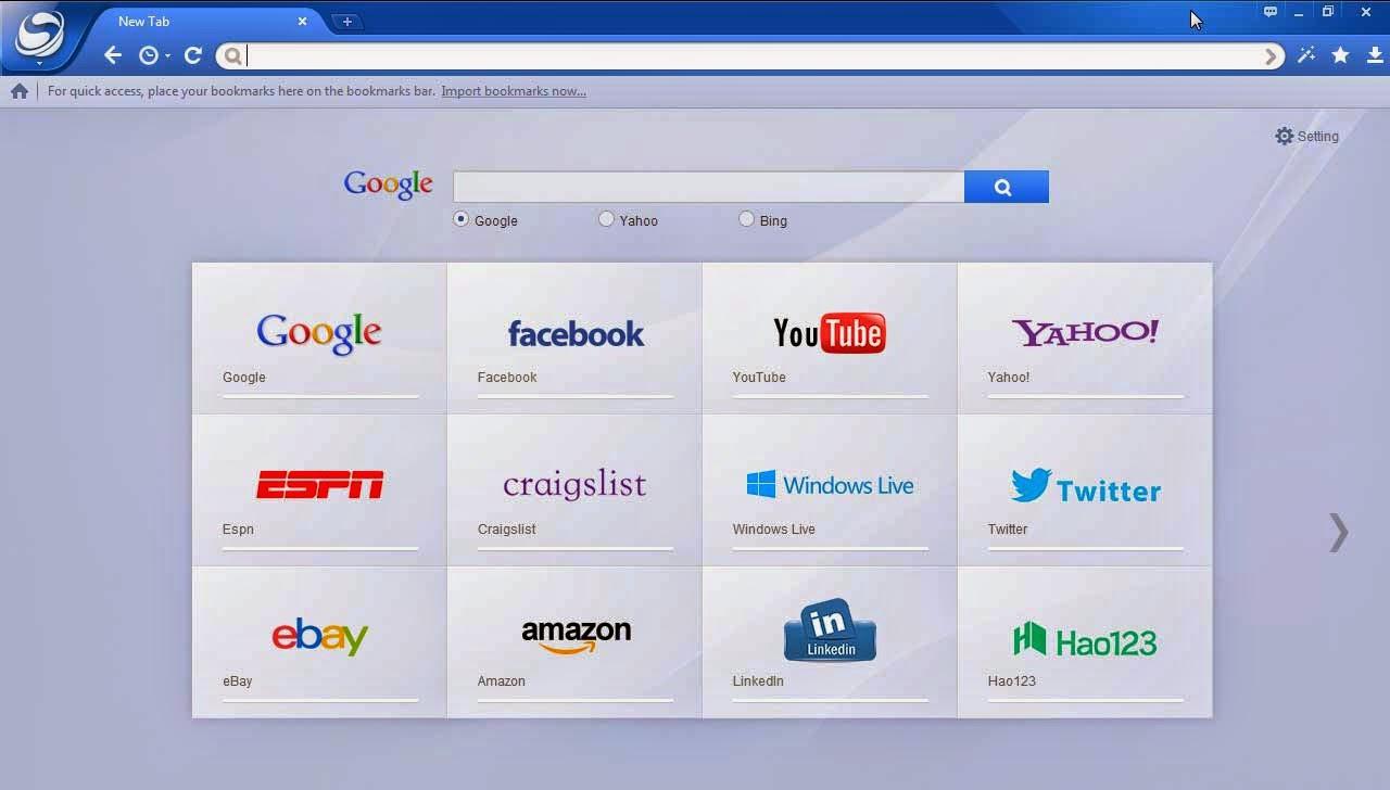 تحميل متصفح بايدو سبارك مجاناً Baidu Spark Browser free