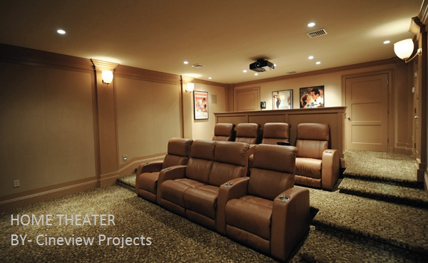 Cineview Projects: Personal Movie Theater