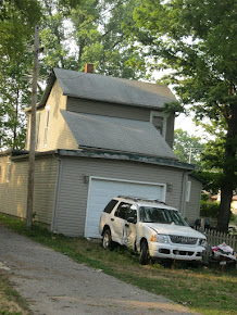 old trashy house