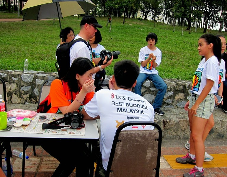 Experience at UCSI Best Buddies Campaign 2014