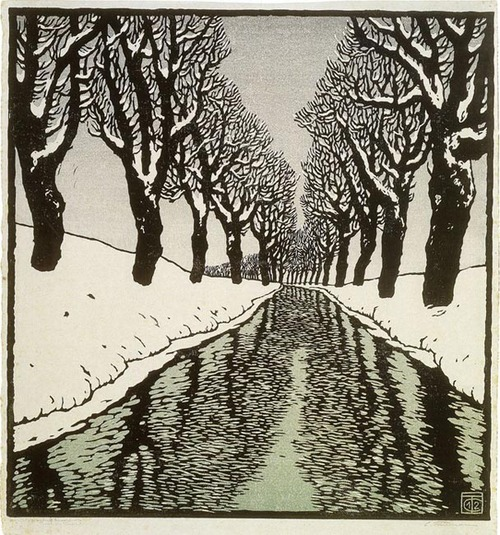 Bach in Winter II, 1912