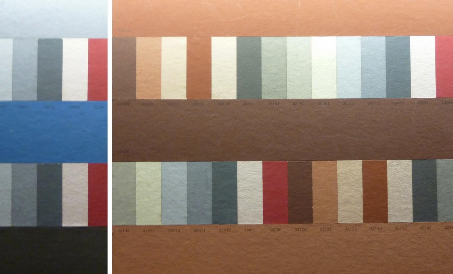 La couleur firminy le corbusier palette de couleurs - Palette de couleur html ...