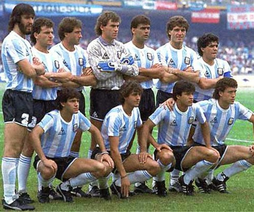 1986 Football World Cup winning Team