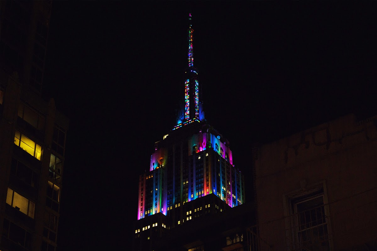 empire state building new years eve