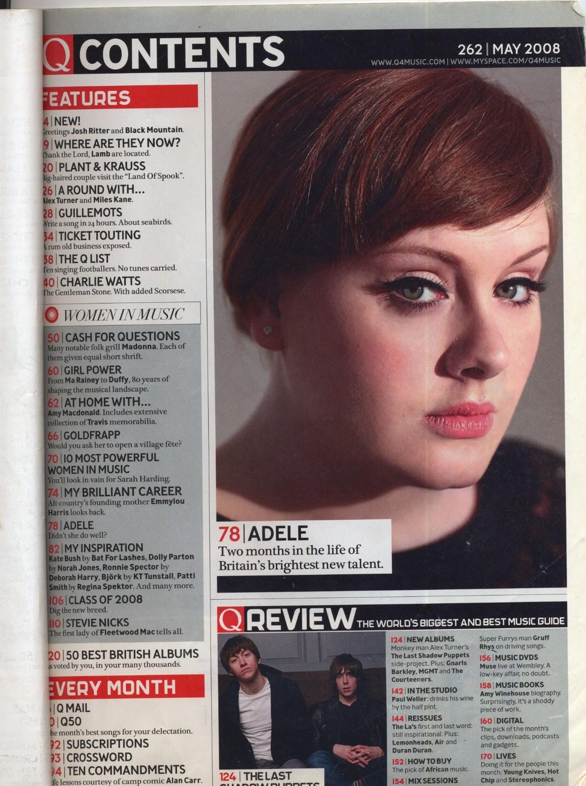 images about Music magazine  Front Cover on Pinterest Charli Hanson s blog   WordPress com    Q Magazine