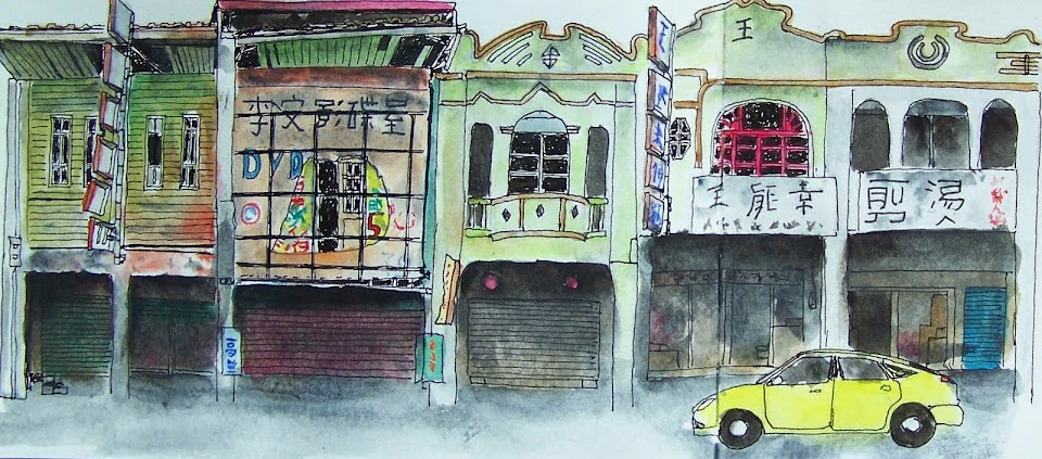 Urban Sketchers Taiwan