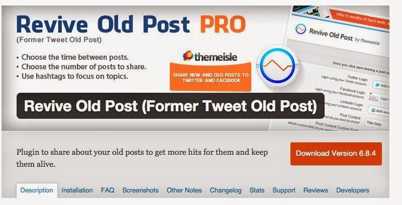 Tự động Chia sẻ bài viết cũ của bạn  trong WordPress