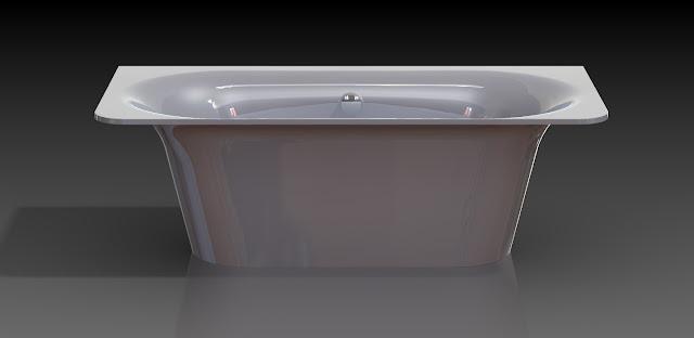 Новинка! Ванна Astra-Form Прима из литого мрамора