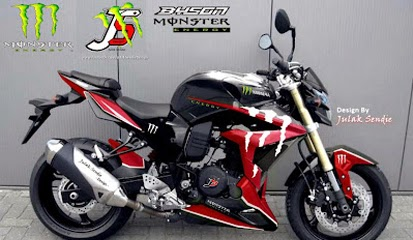 Modifikasi Motor Yamaha Byson 2015