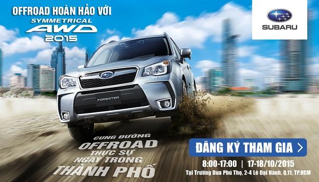 Ngày hội trải nghiệm công nghệ Subaru S-AWD
