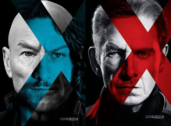 x-men days of future past character poster posters magneto xavier