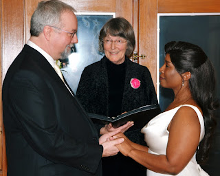 Greg, Michelle and Patricia Stimac, Seattle Wedding Officiant