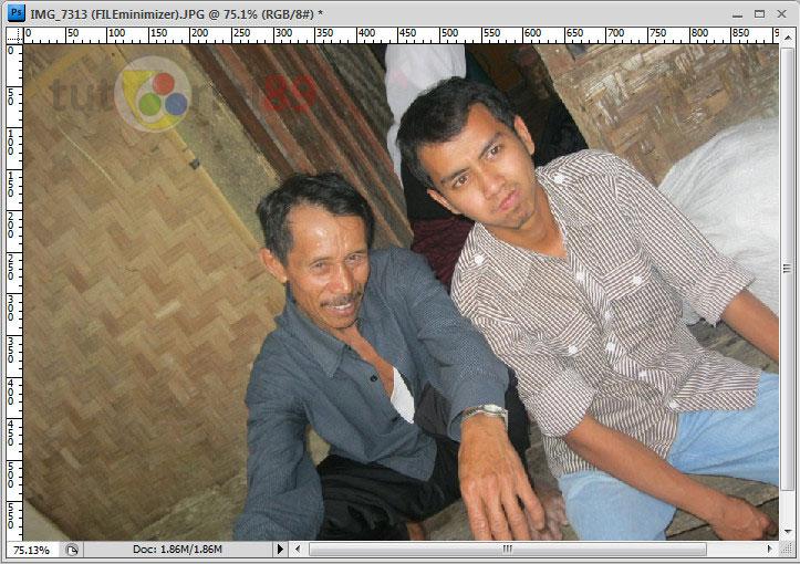 Cara membuat efek foto klise dengan photoshop