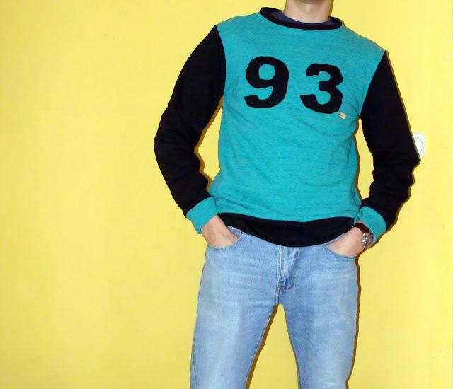 Męska bluza z numerkiem
