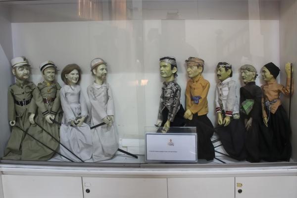 """يقع متحف واي يانغ بجوار متحف تاريخ جاكارتا في مربع """"فاتهيلة """""""