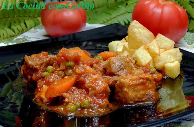 Carne Con Tomate Tradicional