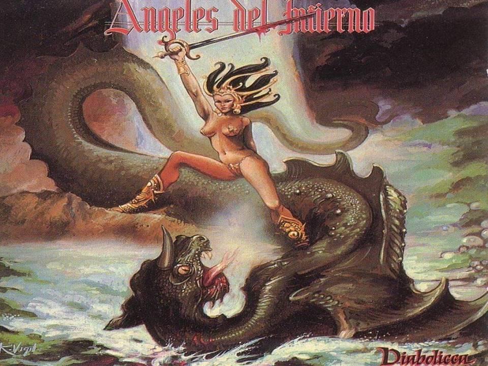 Diabolicca Álbum De Angeles Del Infierno