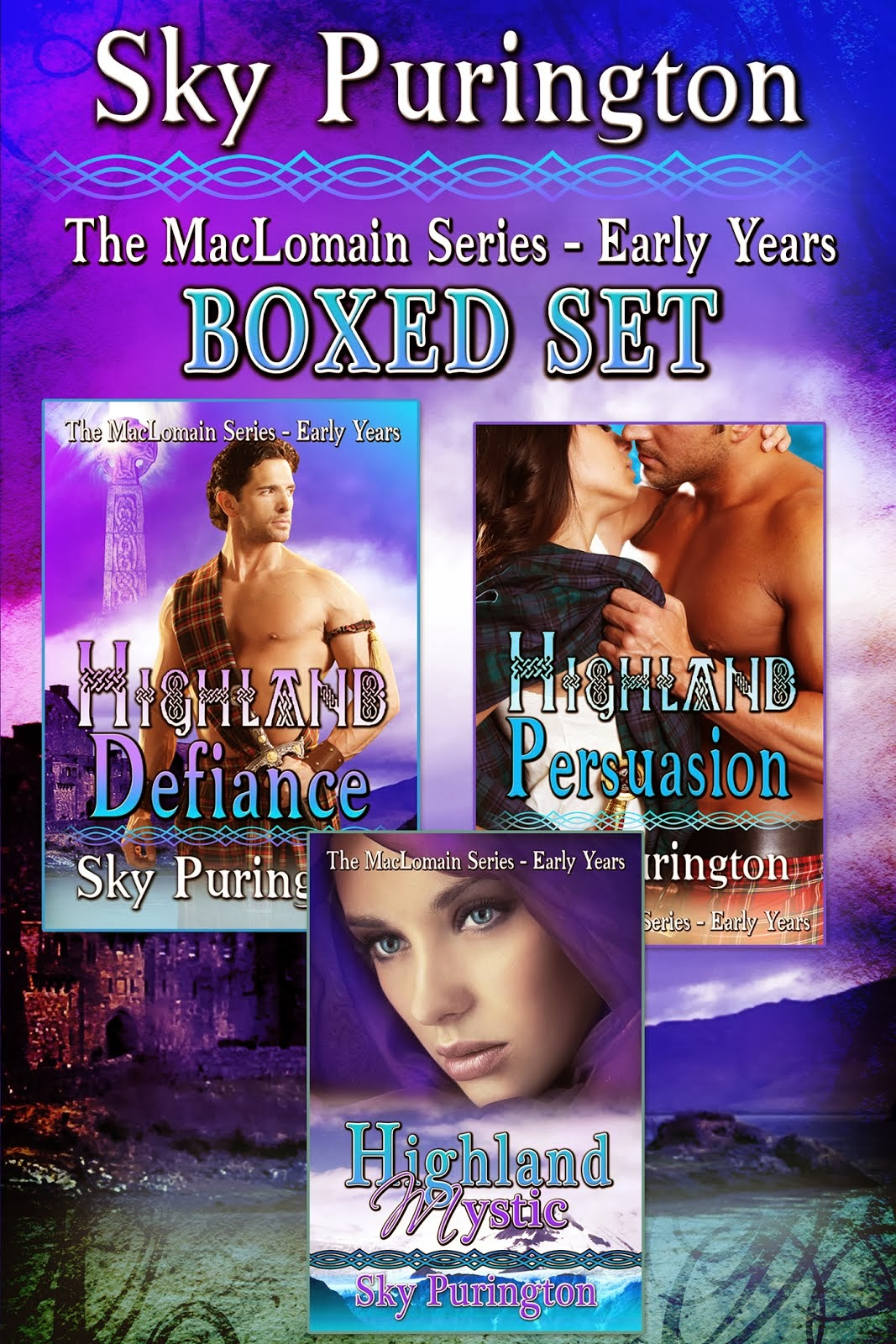 The MacLomain Series- Early Years Boxed Set