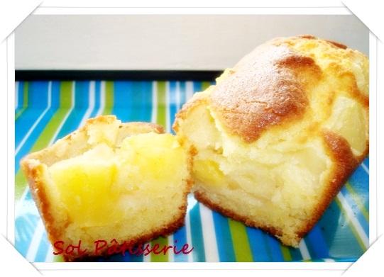 Mini cake de abacaxi