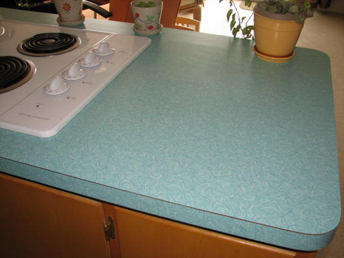 Formica countertop painted picture
