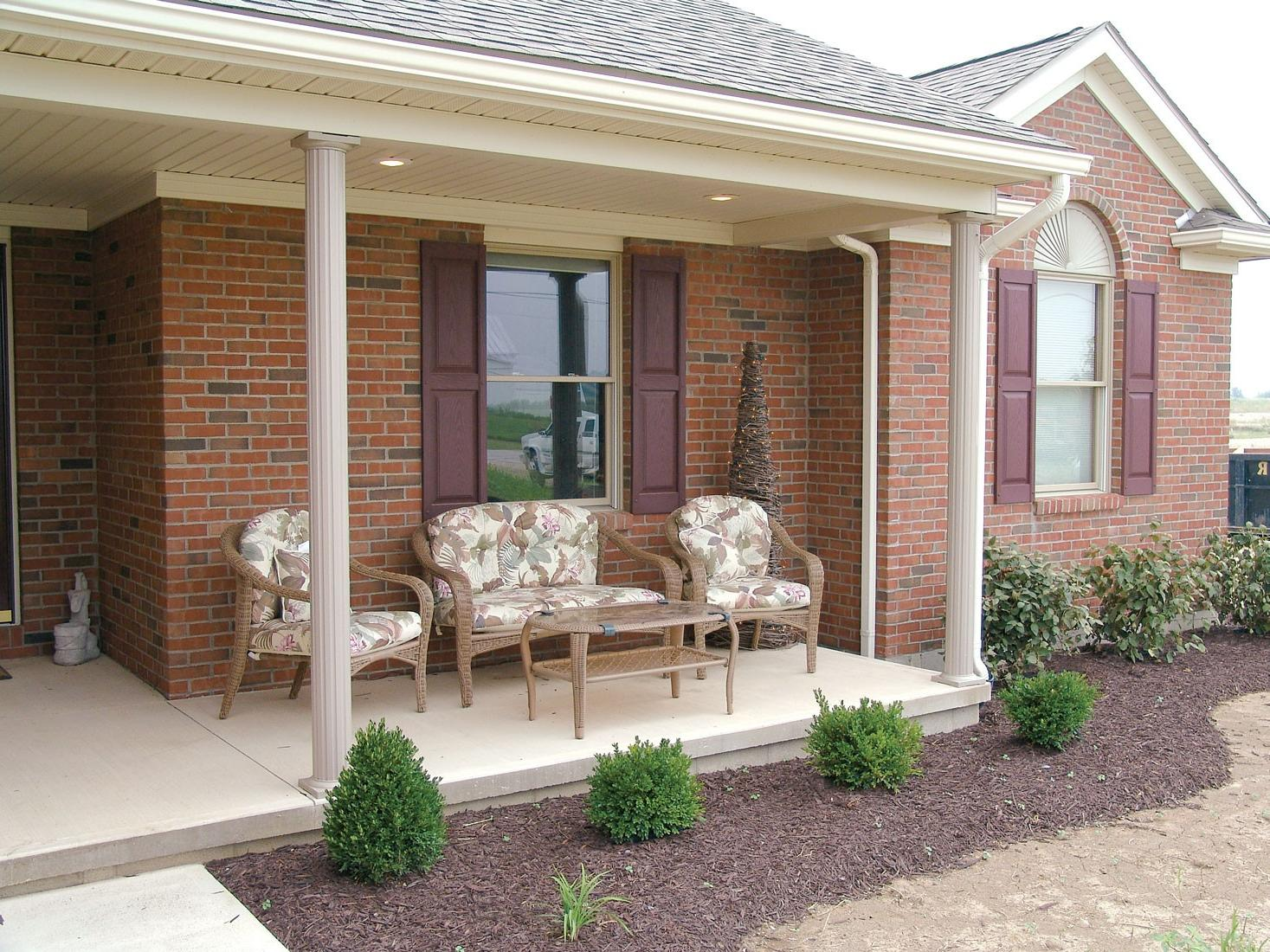 Home Structural Columns : Install porch columns in mississauga replace railings