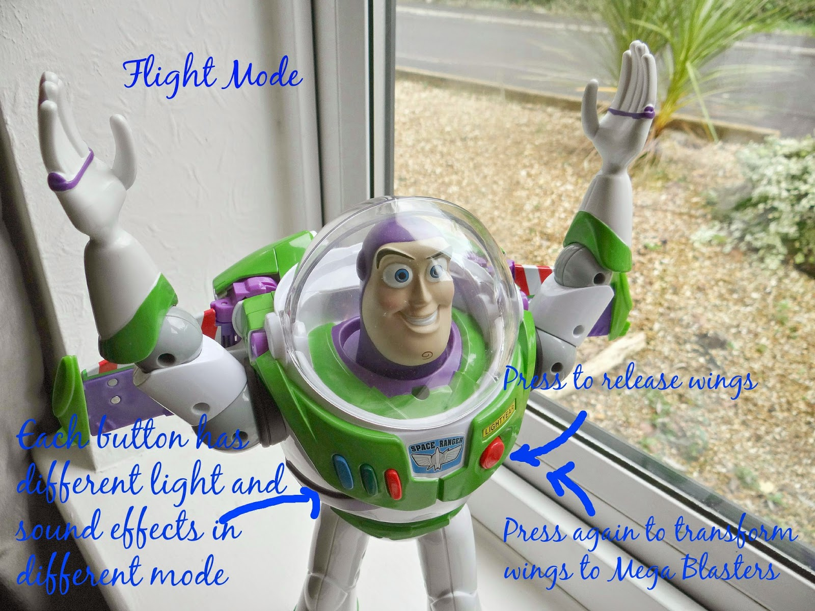 Toy Story, Buzz Lightyear Toy, Christmas Gifts Idea