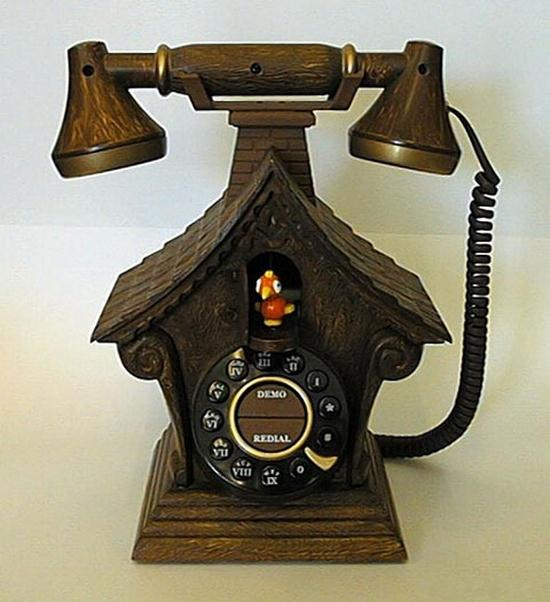 Unusual telephones