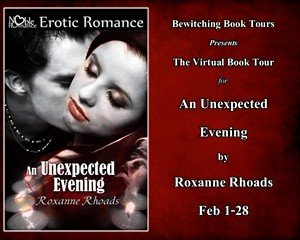 CONTEST and PROMO: An Unexpected Evening by Roxanne Rhoads