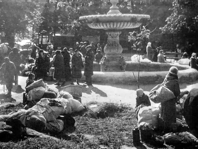 Киев сентябрь 1941 погорельцы