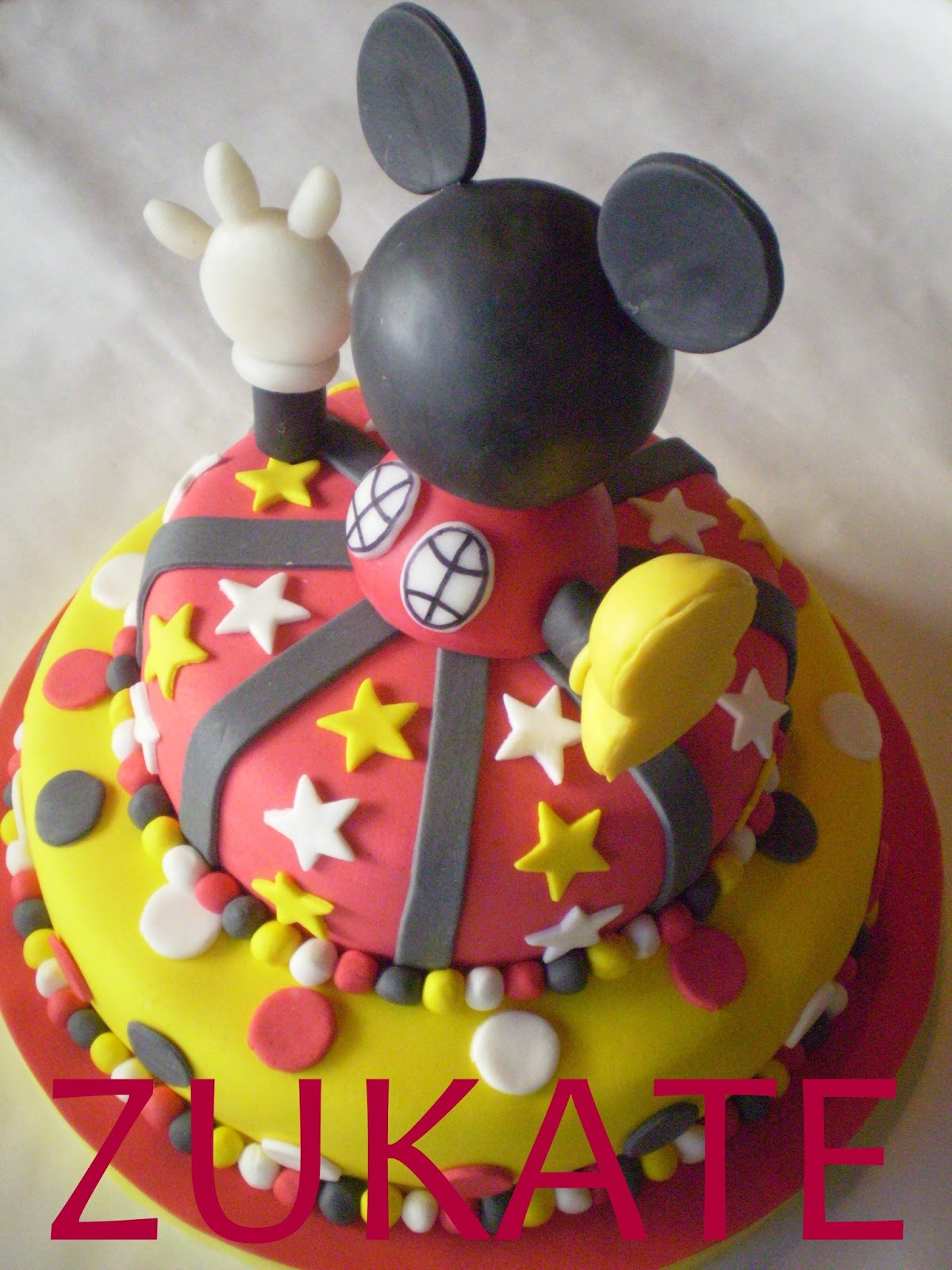 Torta mickey mouse club house