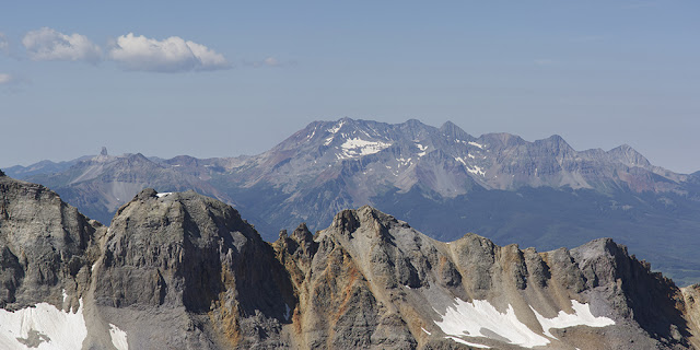The wilson group form Mt. Sneffels