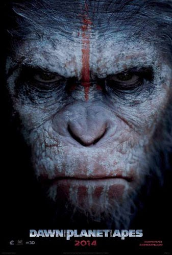 Film Dawn of the Planet of the Apes 2014 di Bioskop