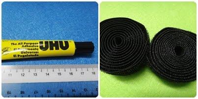 Glue/Velcro