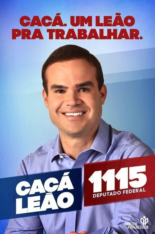 CACÁ LEÃO PP - DEP. FEDERAL 1115
