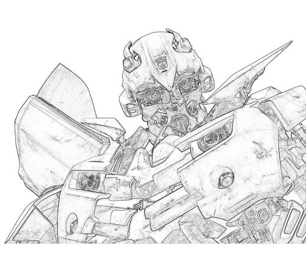 Transformers Prime Megatron Coloring