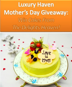 Mothers Day Giveaway: Win Cakes From The Delights Heaven!