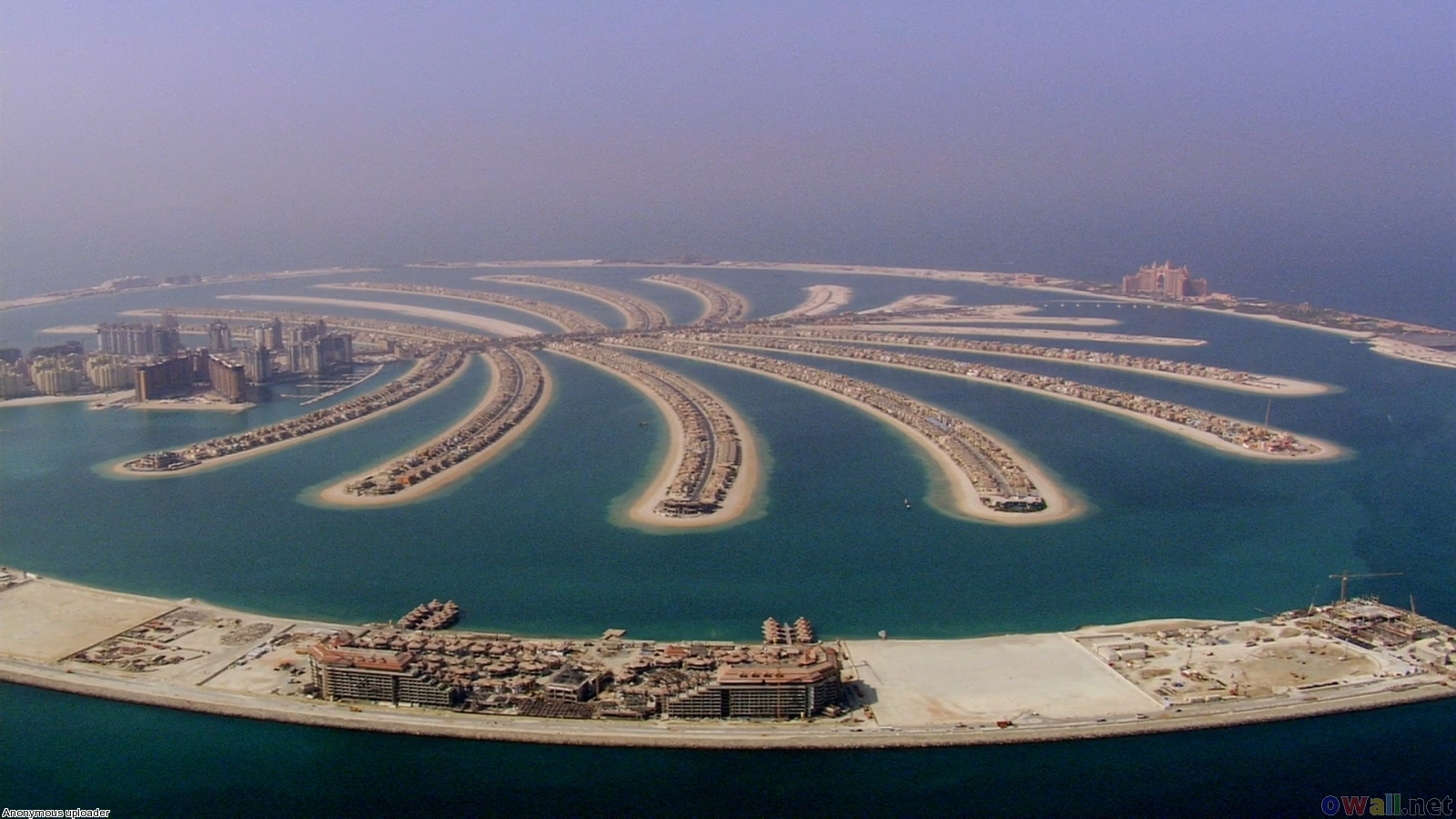 Seven wonders of the world palm island dubai 2 for Videos dubai