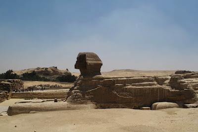 Grande Esfinge de Gizé - Egito
