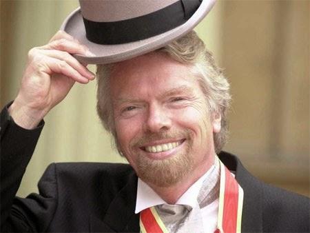 Tỷ phú Anh Richard Branson