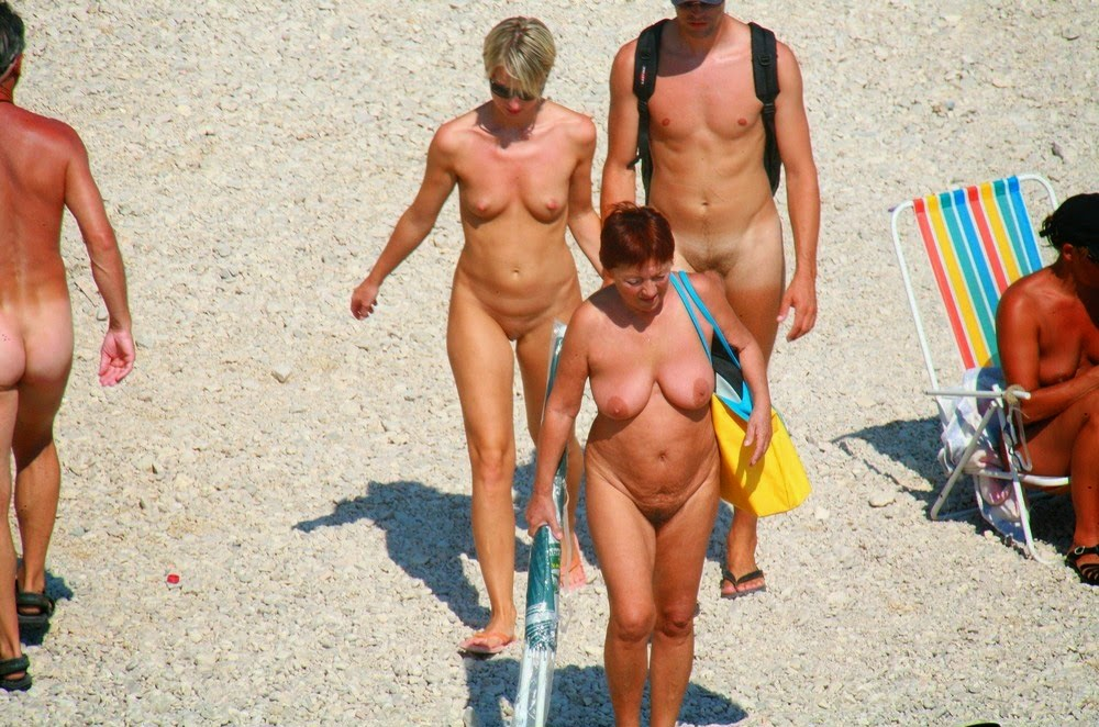 croatia beaches Family nude