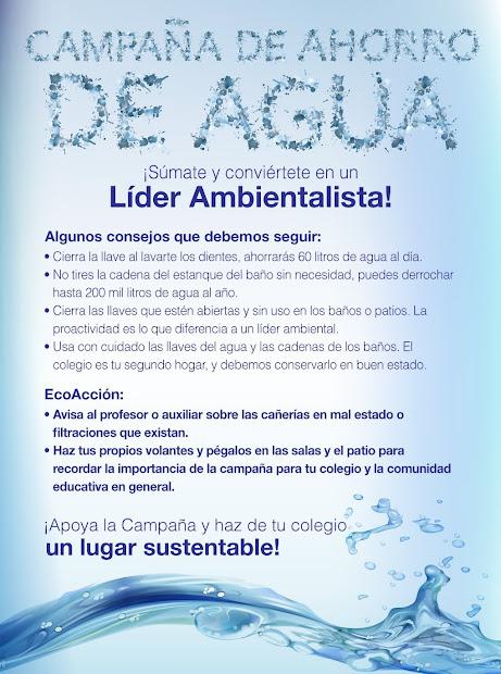 Como hacer un afiche sobre el cuidado del agua - Imagui