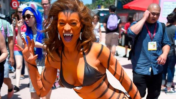 Los 12 cosplays más sexys de la SDCC 2014