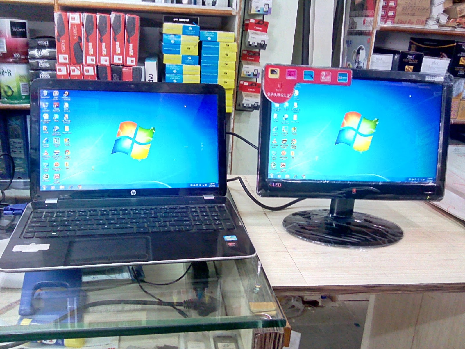 Learn new things how to display laptop screen to monitor for Mirror laptop to tv