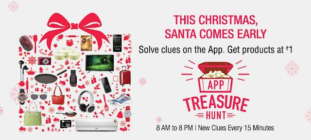 amazon app treasure hunt