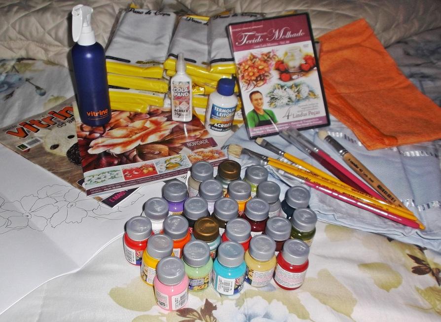 material pintura em tecido